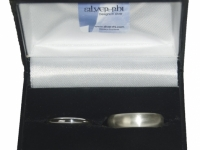 Sterling Silver Traditional Wedding Bands