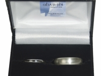 Traditional Wedding rings in Sterling Silver