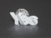 'Yes' Pin with Back £45 excl P&P